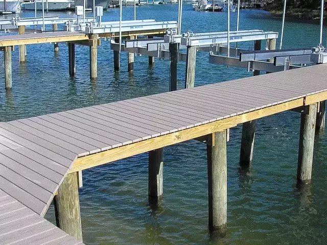 Composite docks and decking in Pasco County, Hernando Beach, Tampa and Hillsborough County